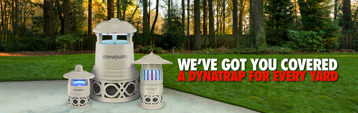 A variety of DynaTraps for any type of yard