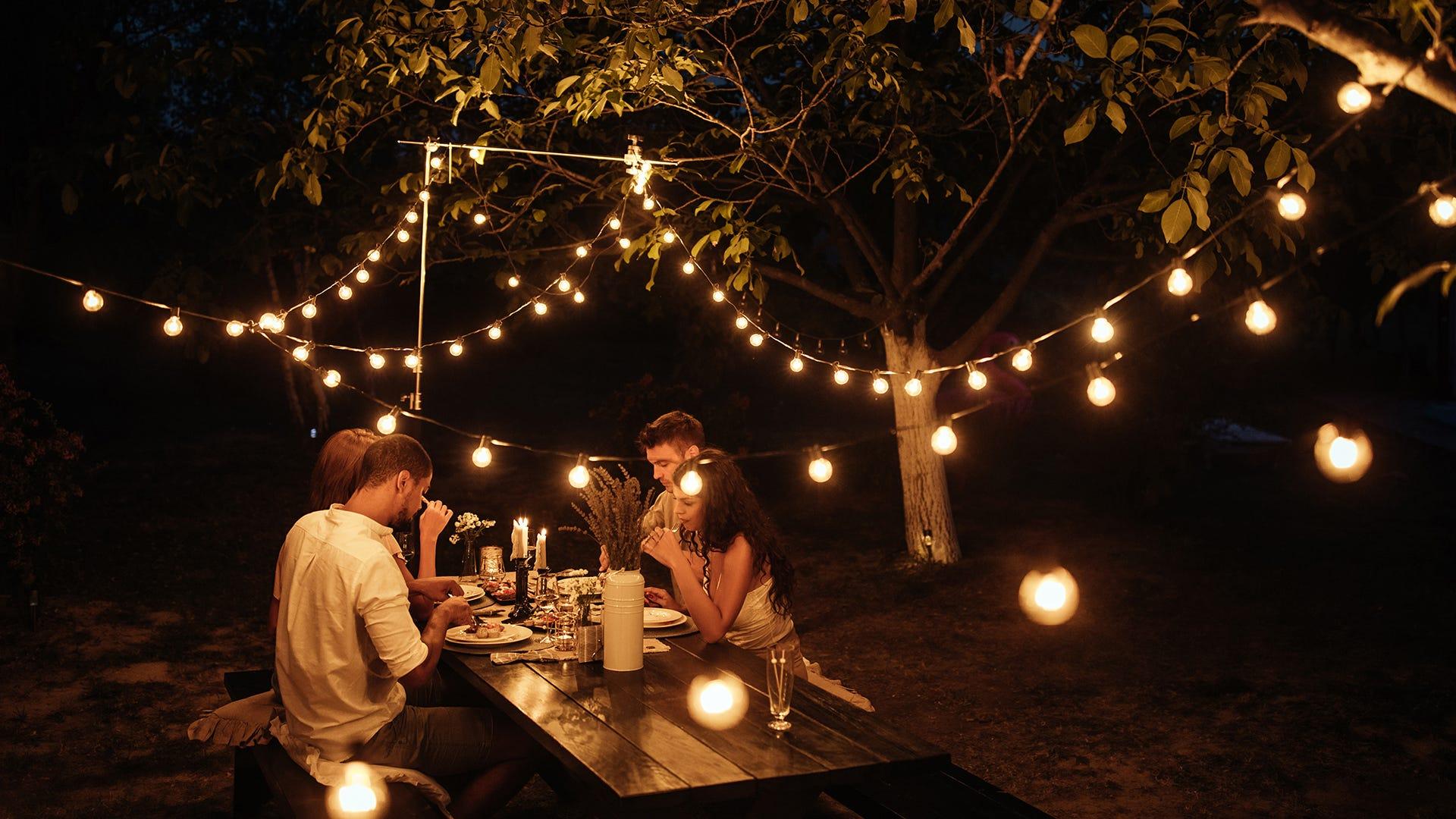 nighttime gathering without bugs