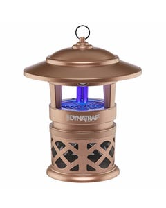 DynaTrap® ½ Acre Mosquito and Insect Trap with Optional Wall Mount And 2 Spare  Bulbs - Copper