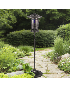 DynaTrap® 1/2 Acre w/ Pole - Decora Series Insect Trap