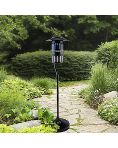 DynaTrap® 1/2 Acre w/Pole - Black Insect Trap