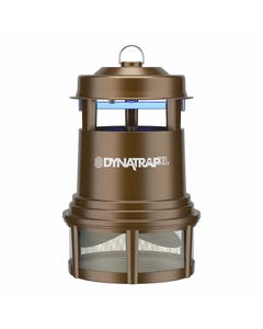 DynaTrap® 1 Acre XL Mosquito and Insect Trap - Bronze, Plus Replacement Bulbs