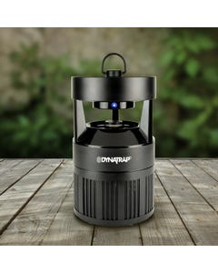 DynaTrap® Outdoor Mosquito And Insect Trap With Atrakta Pod 1/4 Acre Black